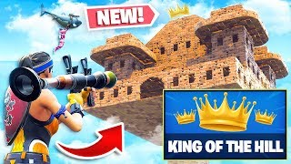 *NEW* KING-OF-THE-HILL Custom Gamemode in Fortnite Playground V2 Mode! (Battle Royale)