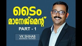 TIME MANAGMENT - HOW TO IMPROVE TIME -MALAYALAM VK SHIHAB