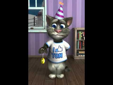 Gato feliz cumpleaños jaja
