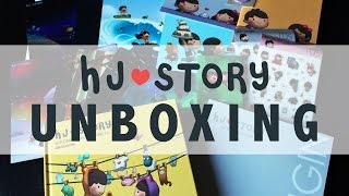 hj story volume 3 unboxing