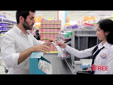 MAF Carrefour - Free Trolley Promotion - BUY 5 and Get 1 of them FREE