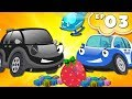 Bob the Police Car Chase Thief Stolen Surprise Egg | Kids Cartoon Episode 03
