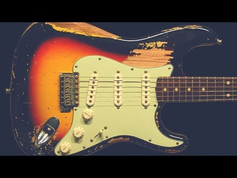 Blues Shuffle Jam   Drivin' Guitar Backing Track (G)
