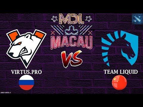 МАТЧ ДНЯ! | Virtus.Pro Vs Liquid (BO1) | MDL Macau 2019