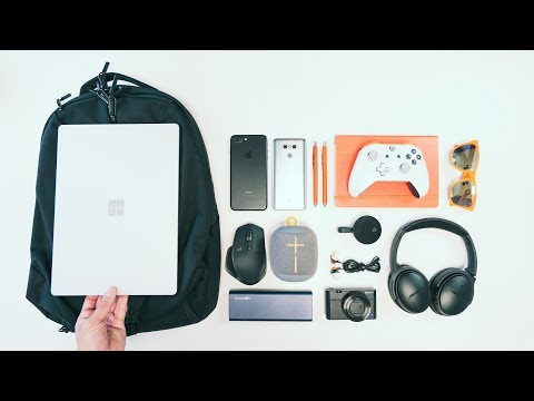 THE ULTIMATE TECH TRAVEL BAG - BACK TO SCHOOL EDITION - Ep. 15