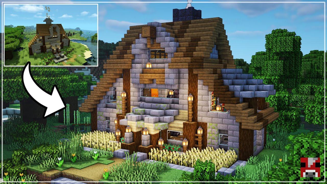I Transformed a SUBSCRIBER'S Survival Base! | Minecraft Timelapse