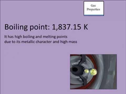 ChemWiki Elemental Minute: Ununpentium (Physical Properties)
