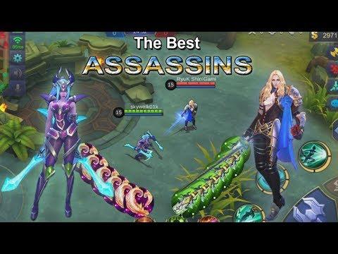 KARINA VS LANCELOT - THE BEST ASSASSIN MOBILE LEGENDS