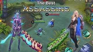 KAR NA VS LANCELOT   THE BEST ASSASS N MOB LE LEGENDS