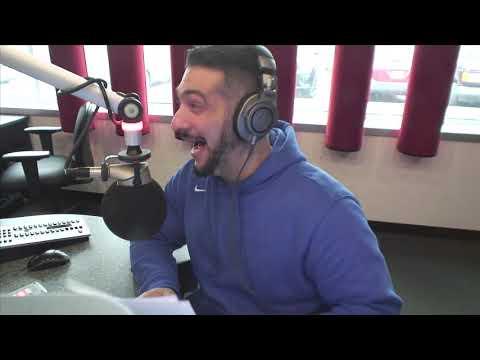 Valenti Show - Mike Tirico Calls In To Calm Valenti Down
