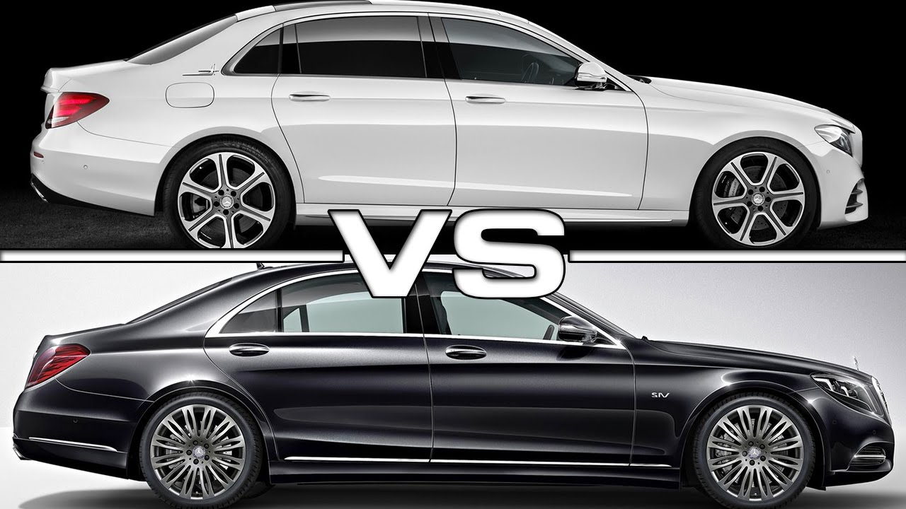 2017 mercedes e class l vs mercedes s class youtube. Black Bedroom Furniture Sets. Home Design Ideas