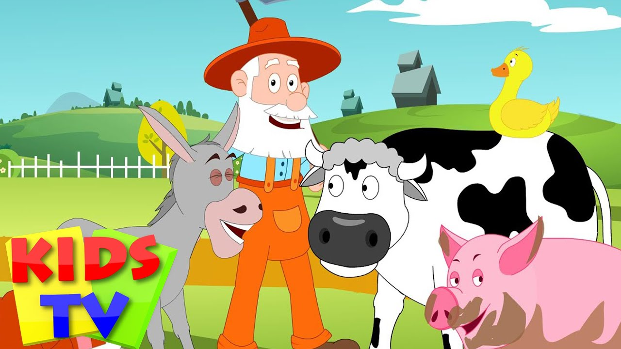 Old Mcdonald Had A Farm Kids Tv Nursery Rhymes Animal