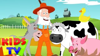 Kids TV Nursery Rhymes - Old MacDonald had a Farm | Old MacDonald | Nursery Rhyme