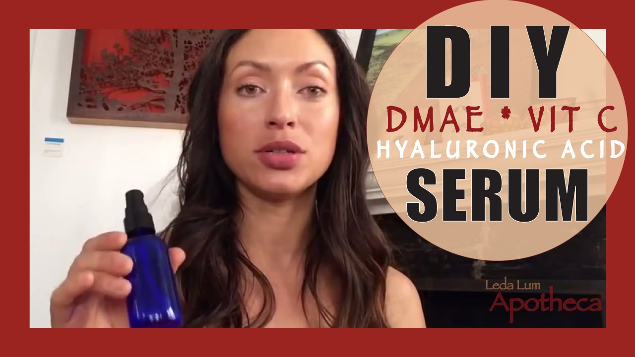 Diy hyaluronic acid dmae vit c serum youtube solutioingenieria Images