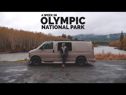 A Week in Olympic National Park, Washington | Vanlife America