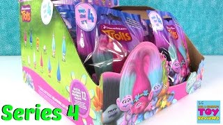 Series 4 Trolls Movie Blind Bags Full Box Opening | PSToyReviews