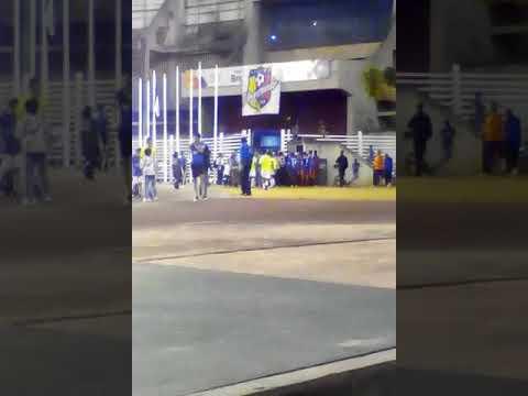 Pelea entre Atlético Venezuela y Estudiantes de Caracas
