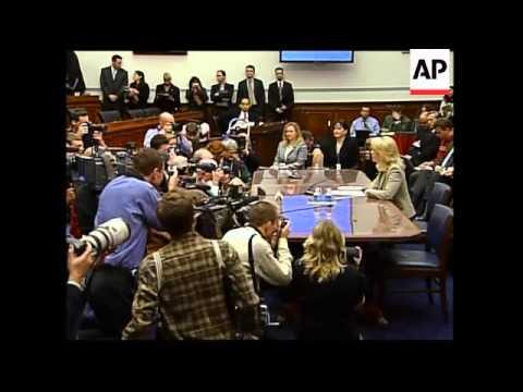 CIA agent Plame testifies as Democrats open hearings on CIA leak