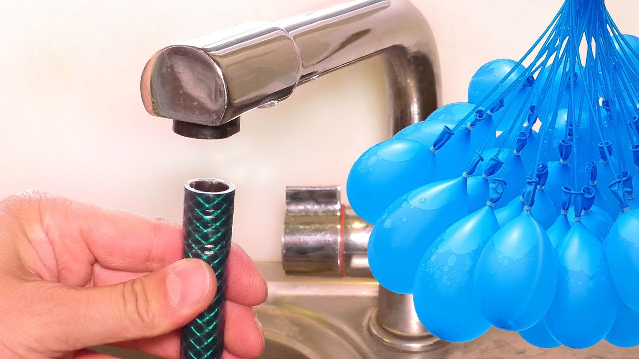 Connect a Hose to ANY Tap - Summer Life Hack - Bunch O Balloons ...