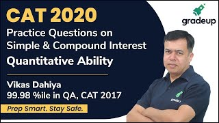 Practice Questions on Simple & Compound Interest for CAT 2020 | Quantitative Ability | Gradeup