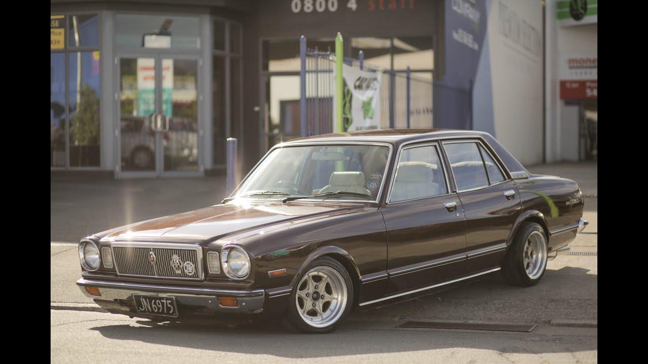 1980 Toyota Cressida V8 - YouTube