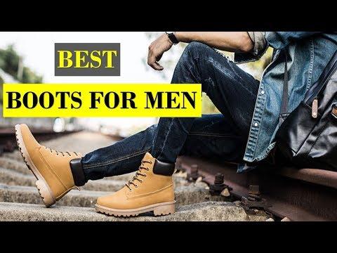 5 Best Winter Boots For Men | Men`s Fashion 2019 |  Shopping Corner