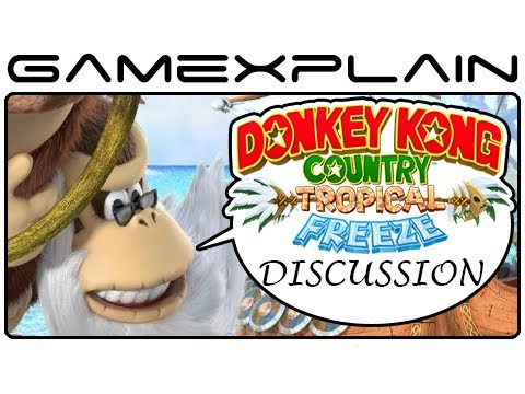 Donkey Kong Country: Tropical Freeze - Cranky Kong as 4th Character Thoughts & Ideas (Wii U)