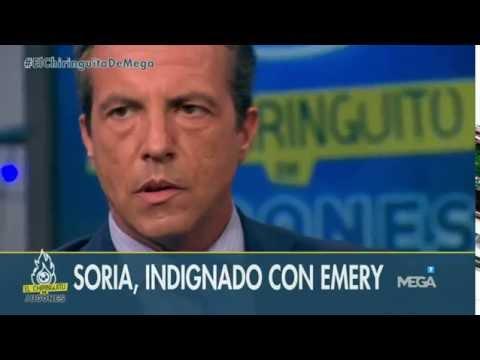 El mensaje de Soria a Unai Emery tras su salida del Sevilla