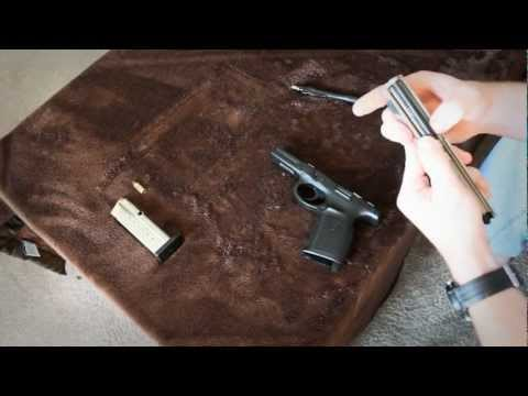 How to Clean and Lube Smith And Wesson Sigma 9mm - Wes And Danny