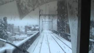 Repeat youtube video 【大雪警報】京急線 2100形(2133編成) 前面展望 品川~京急蒲田 (大雪警報)