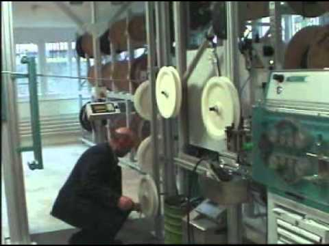 Ramatech wire processing and coiling machine