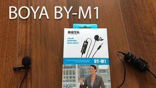 BOYA BY-M1. Петличка для смартфона и камеры