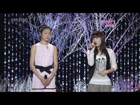 Taeyeon & Yuna Kim - Can you hear me , Jan01.2009 2/2 GIRLS' GENERATION 720p HD
