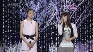 Taeyeon & Yuna Kim - Can you hear me , Jan01.2009 2/2 GIRLS