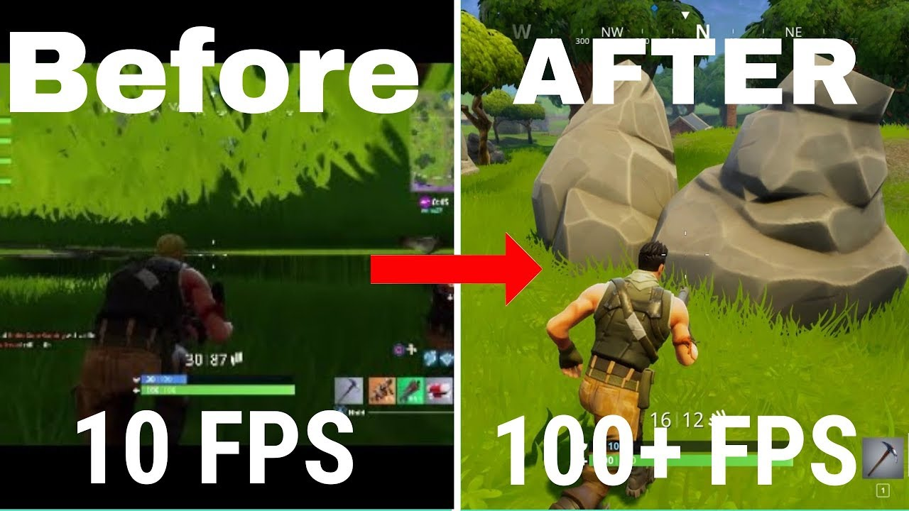 how to change fps in fortnite