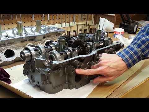 Cylinder Head & Gasket DIY Procedure – Toyota 5VZ-FE – Part 4