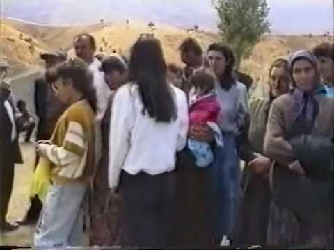 1993 YILI ELBİSTAN AMBAR KÖYÜ DÜĞÜN GÖRÜNTÜSÜ
