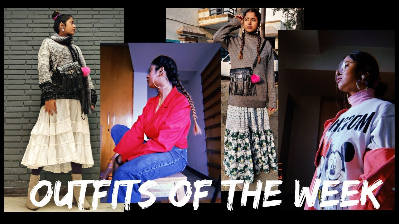 [VIDEO] - #4 JAN OUTFITS OF THE WEEK | STYLING SUMMER CLOTHES FOR WINTER | MODA YALDA 5