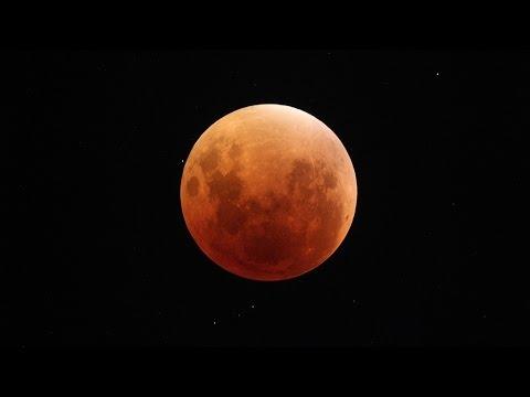 Eclipse Total Luna - Moon 27-28/09/2015