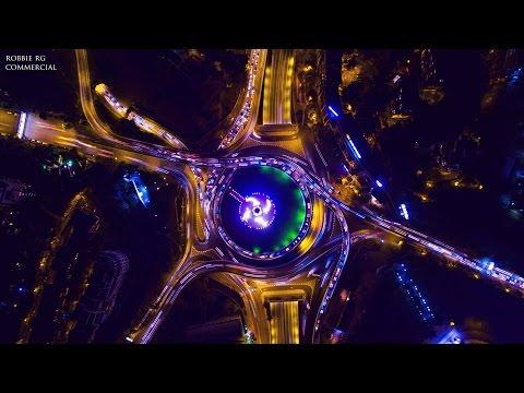 Tbilisi city - ციდან დანახული თბილისი 4K © Потрясающий Тбилиси