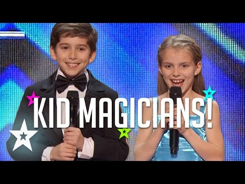 LITTLE MAGICIANS | These Kids Know A Trick Or Two! Kid Magic On Got Talent