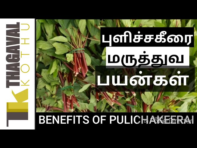 Health benefits of pulichakeerai||??????????? ???????? ???????