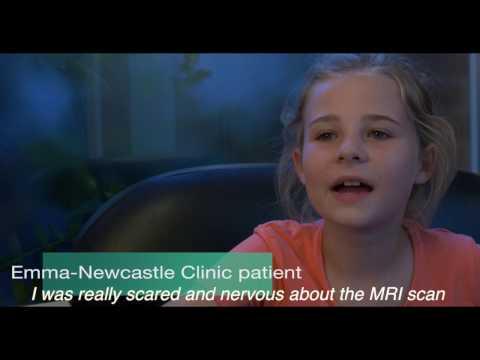 Emma's story: open MRI scan