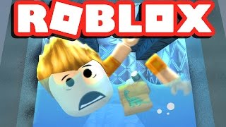 TRAPPED IN A ROBLOX WASHING MACHINE!