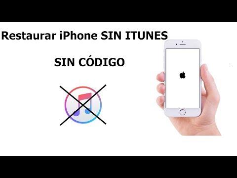 SOLUCIÓN: Restaurar IPhone Sin ITunes Y Sin Contraseña  2019