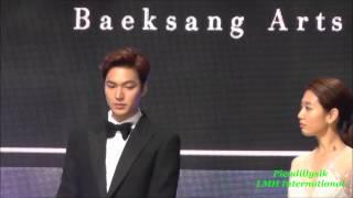 Lee Min Ho at 51 Paeksang Arts Awards 20150526
