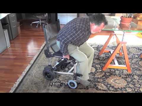Fauteuil roulant lectrique zinger chez tous ergo youtube - Fauteuil roulant chenille ...