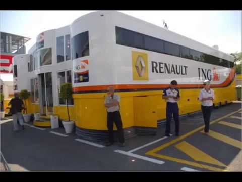 Formula 1-F1 Motor Homes. The One Minute Tour