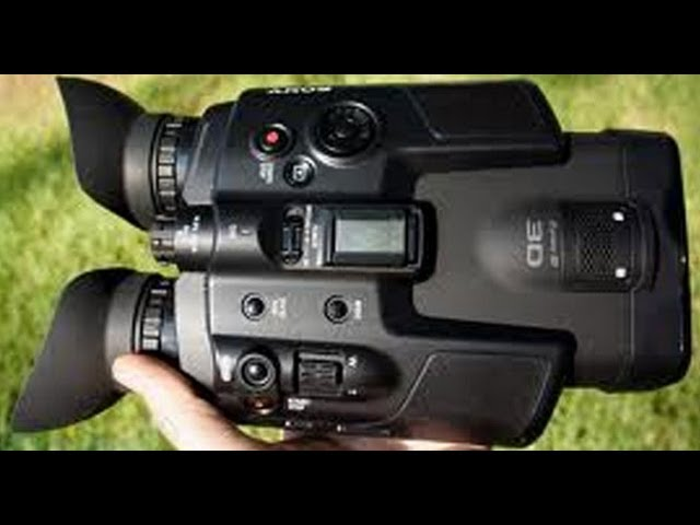 The DEV-5 Sony 3D Digital Recording Binoculars