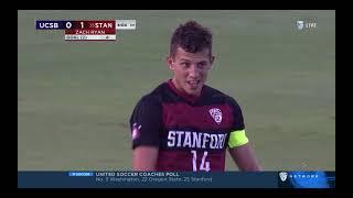 Stanford Men's Soccer vs University of California, Santa Barbara September 6, 2021